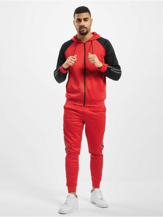 Aarhon Ensemble & Survêtement Hooded rouge
