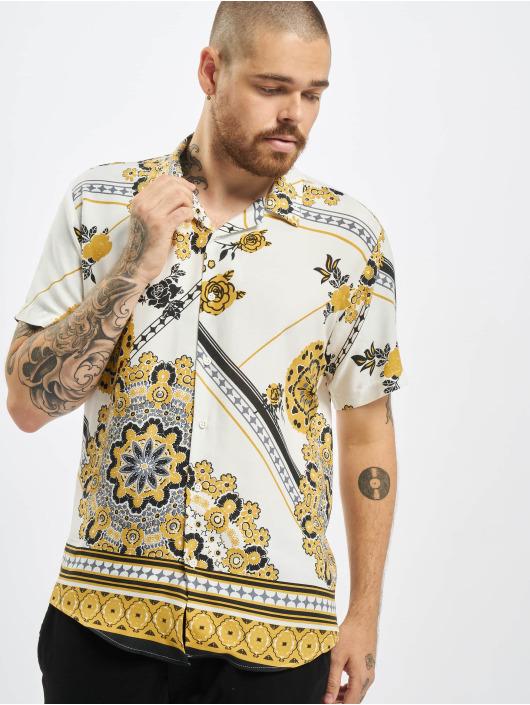 Aarhon Hemd Printed weiß