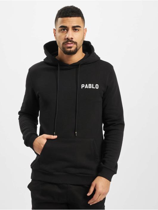 Aarhon Hoody Pablo schwarz