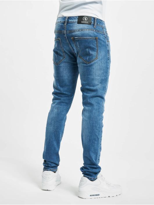 Aarhon Jeans slim fit Cutz blu