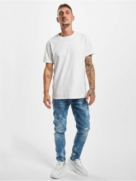 Aarhon Jeans slim fit Marty blu