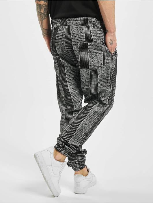 Aarhon Jogginghose Checkered grau