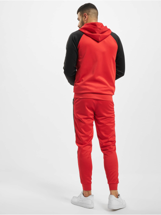 Aarhon Joggingsæt Hooded rød