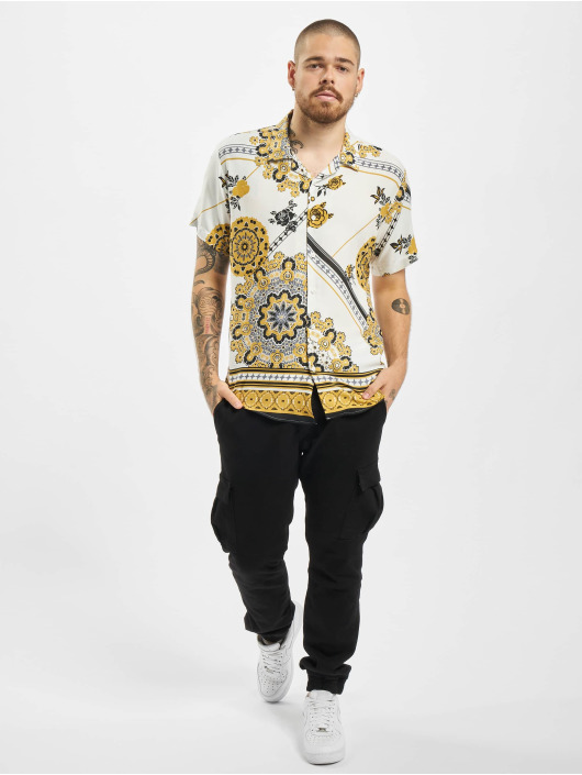 Aarhon Košile Printed bílý