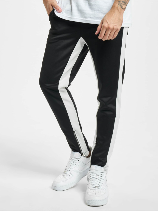 Aarhon Látkové kalhoty Contrast čern