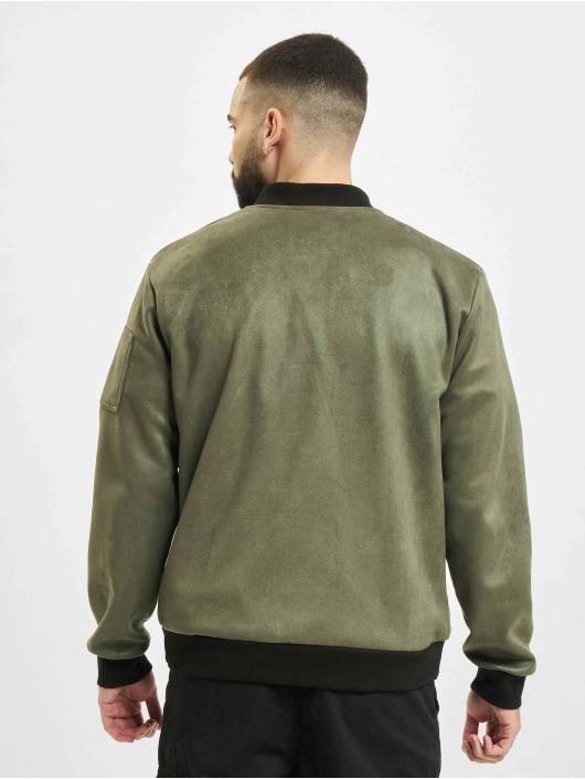 Aarhon Lightweight Jacket Fake Velours khaki