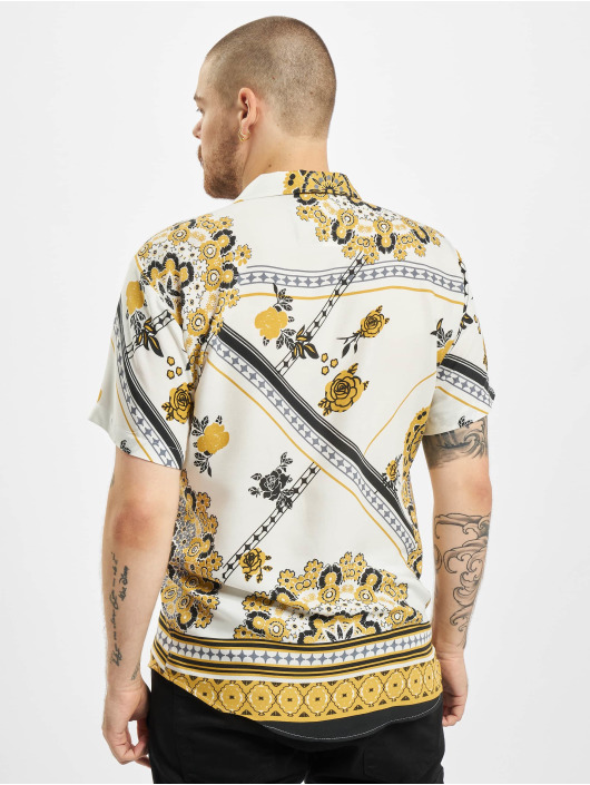 Aarhon overhemd Printed wit