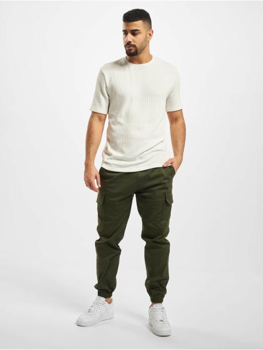 Aarhon Pantalon cargo Carlo kaki