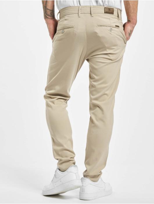 Aarhon Pantalon chino Slim beige