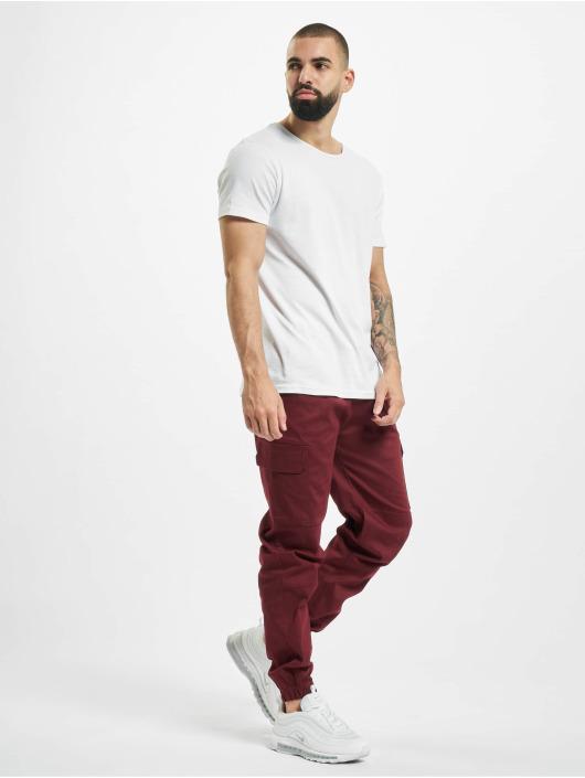 Aarhon Pantalone Cargo Carlo rosso