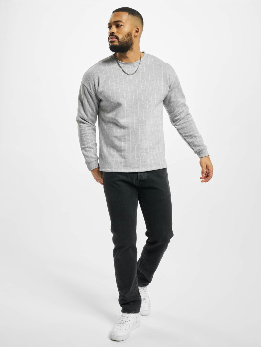 Aarhon Pullover Pinstripe grey