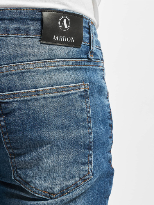 Aarhon Skinny Jeans Joe blau