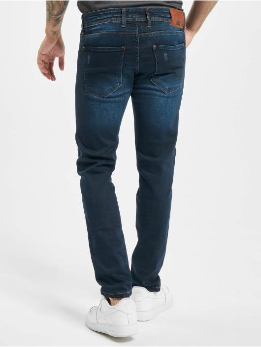 Aarhon Skinny jeans Park blauw