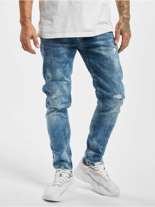 Aarhon Skinny Jeans Marty modrý