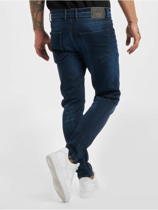 Aarhon Skinny Jeans Mick modrý