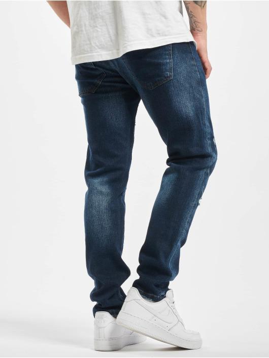 Aarhon Skinny Jeans Dre niebieski