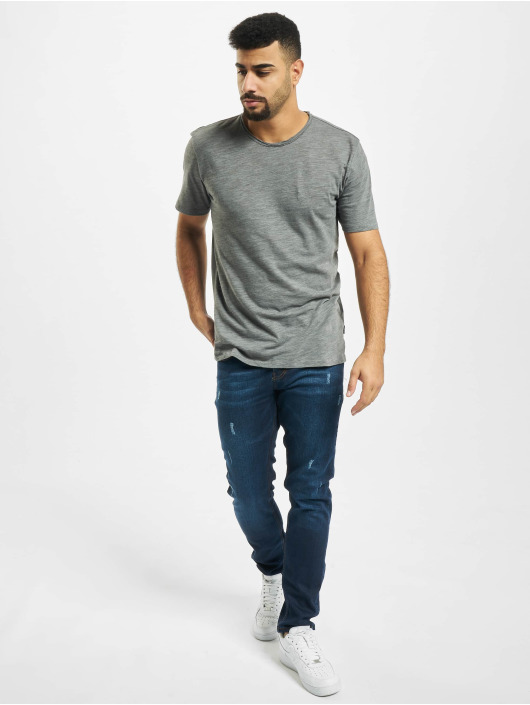 Aarhon Slim Fit Jeans Harvey blå