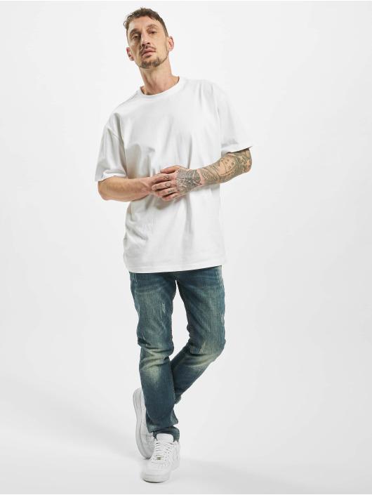 Aarhon Slim Fit Jeans Used blau