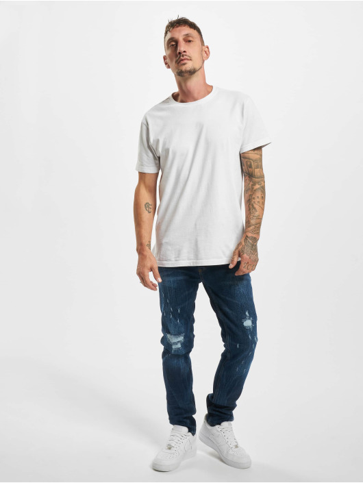 Aarhon Slim Fit Jeans Morten blau