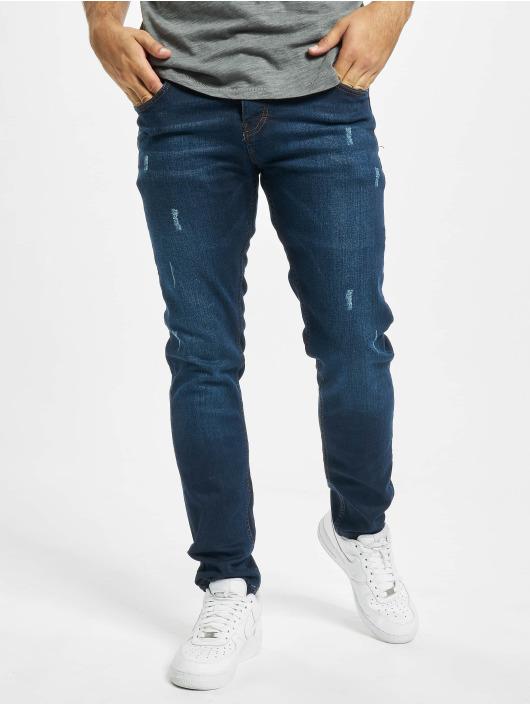 Aarhon Slim Fit Jeans Harvey modrá
