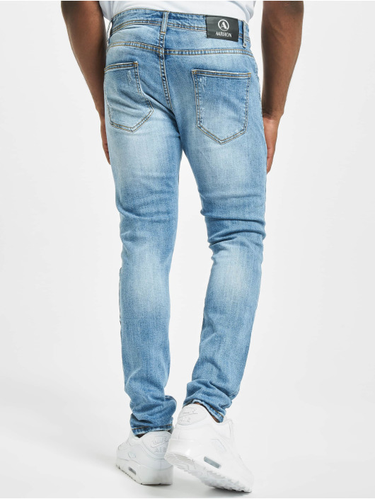 Aarhon Slim Fit Jeans Spencer modrý