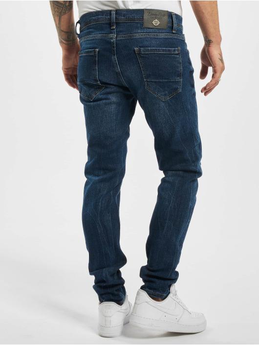 Aarhon Slim Fit Jeans Morten modrý