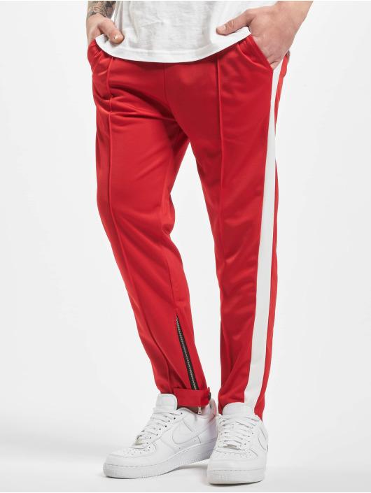 Aarhon Spodnie do joggingu Stripe czerwony