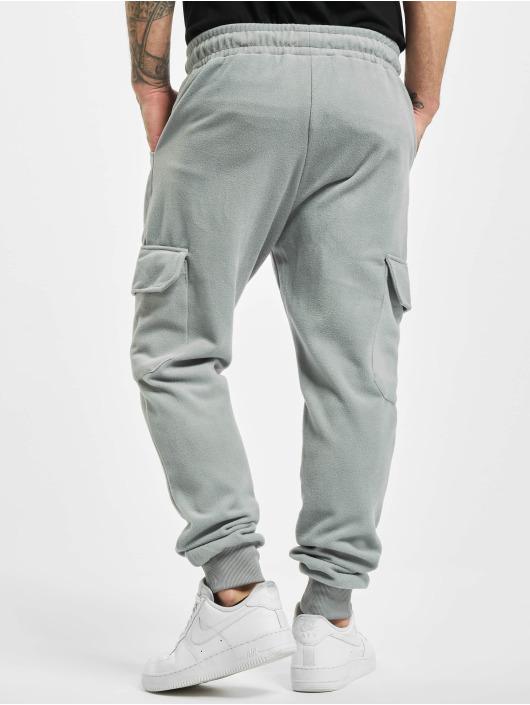 Aarhon Spodnie do joggingu Cargo szary