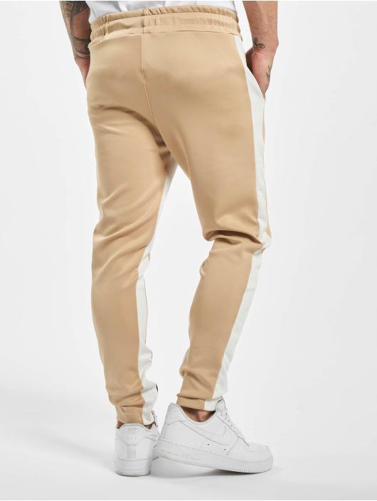 Aarhon Spodnie wizytowe Contrast bezowy