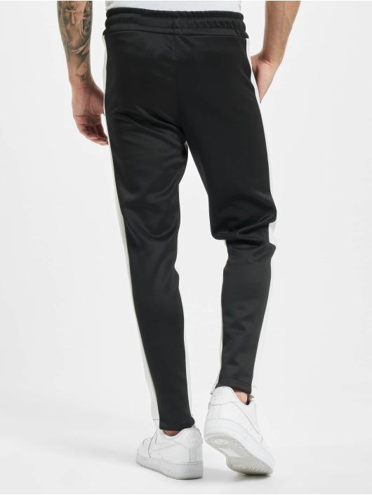 Aarhon Spodnie wizytowe Contrast czarny