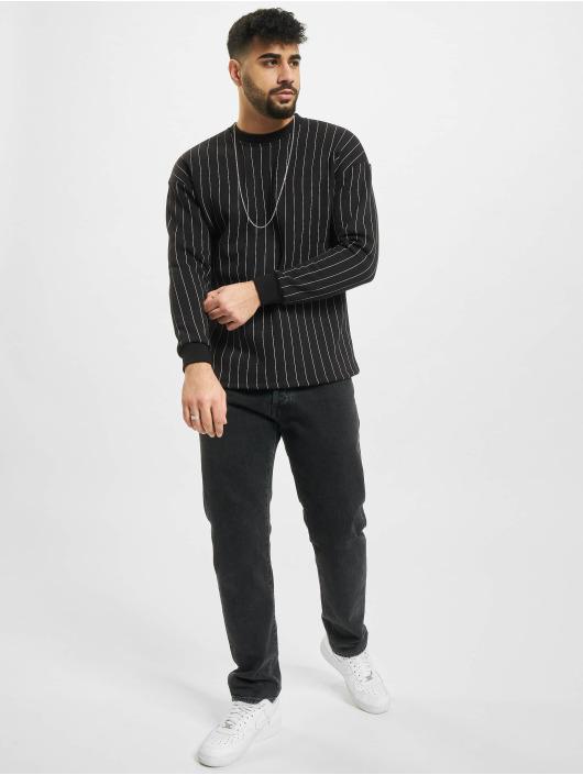 Aarhon Swetry Pinstripe czarny