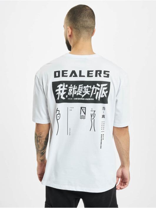 Aarhon T-paidat Dealers valkoinen
