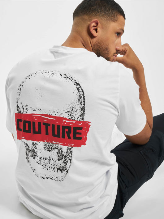 Aarhon T-shirt Couture bianco