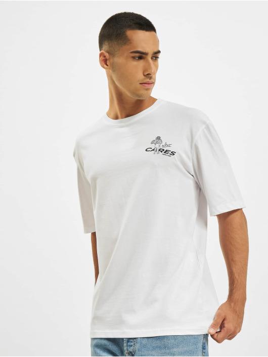 Aarhon T-shirt Who Cares bianco