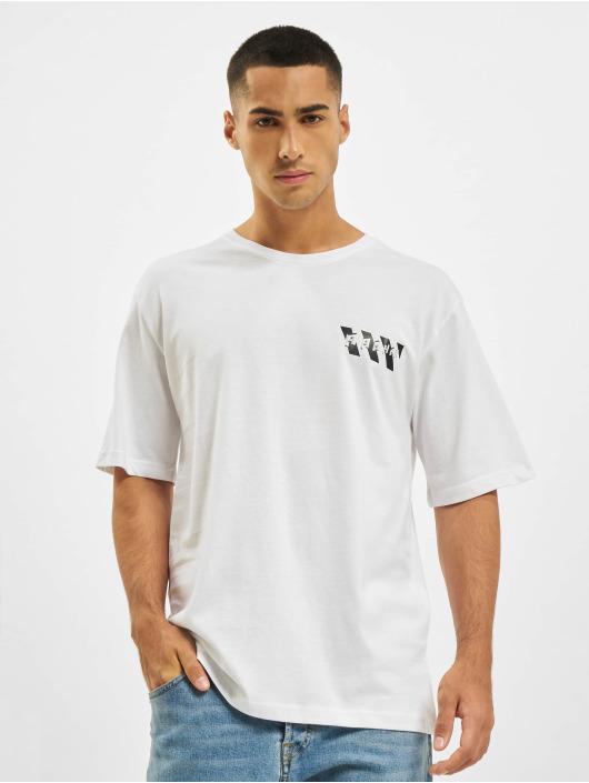 Aarhon T-shirt Logo bianco