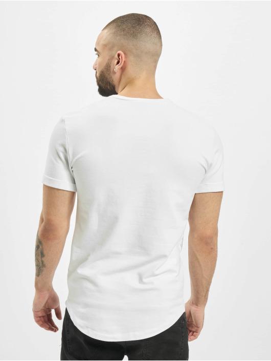 Aarhon T-Shirt Plain blanc
