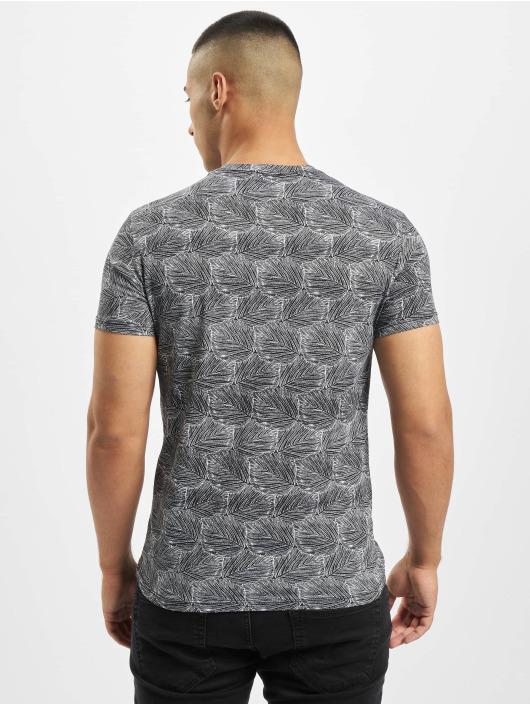 Aarhon T-Shirt Panel blanc