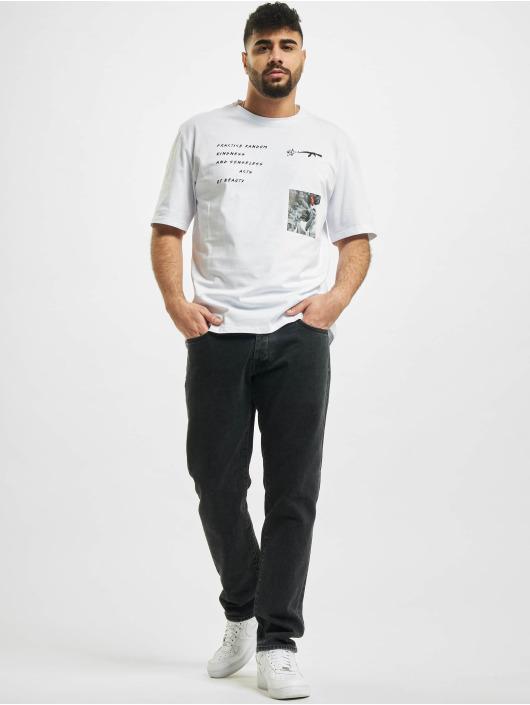 Aarhon T-Shirt Random blanc