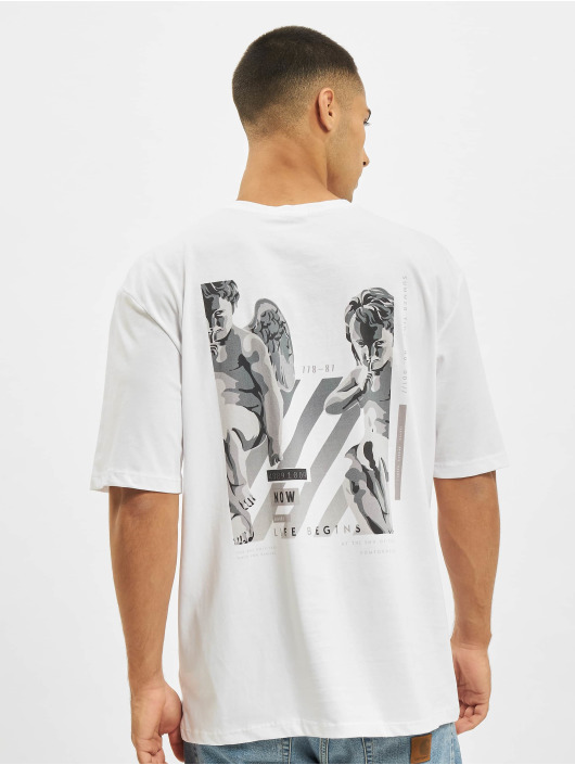 Aarhon T-Shirt Who Cares blanc