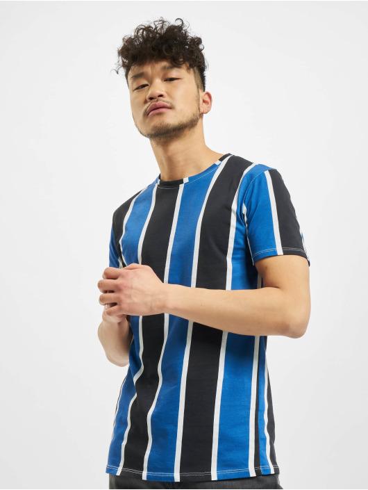 Aarhon T-Shirt Bars bleu
