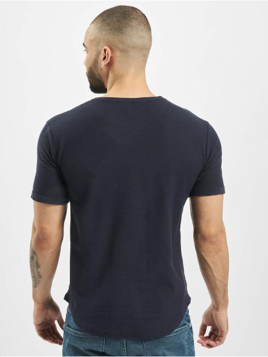 Aarhon T-Shirt Uni blue