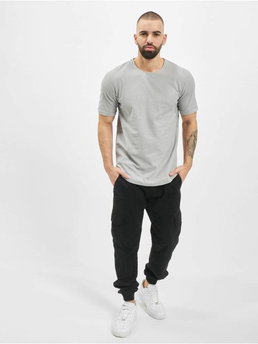 Aarhon T-Shirt Uni grau