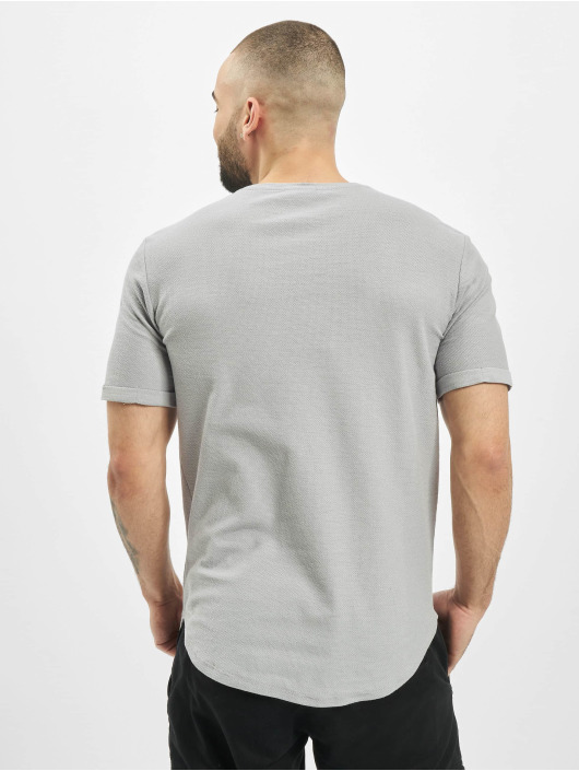 Aarhon t-shirt Uni grijs