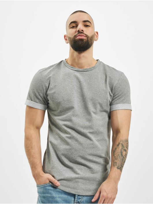 Aarhon T-Shirt Fake Friends gris