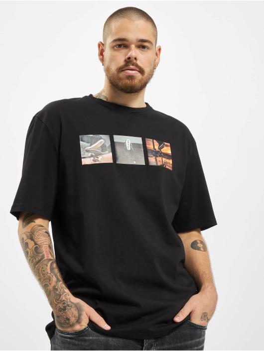 Aarhon T-shirt F Off nero