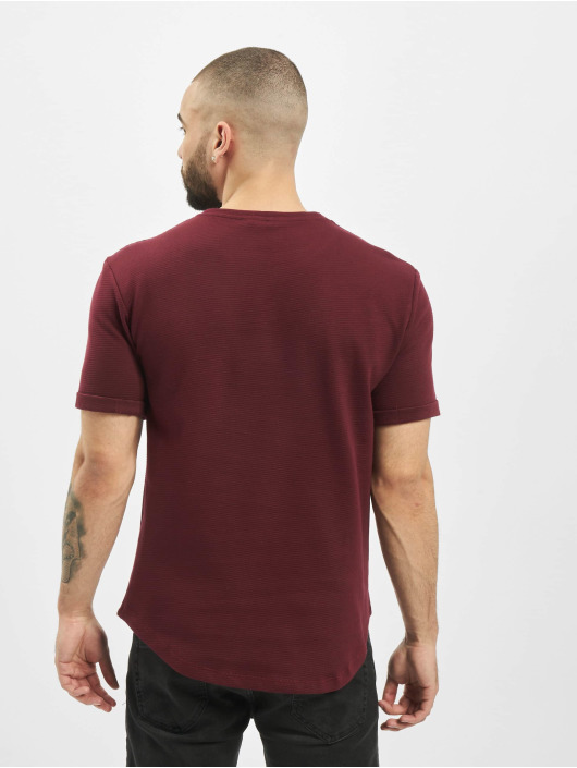 Aarhon T-Shirt Structure red