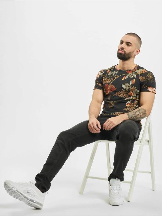 Aarhon T-Shirt Graphic schwarz