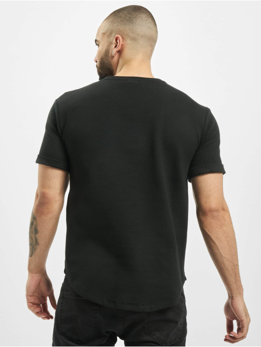 Aarhon T-Shirt Structure schwarz