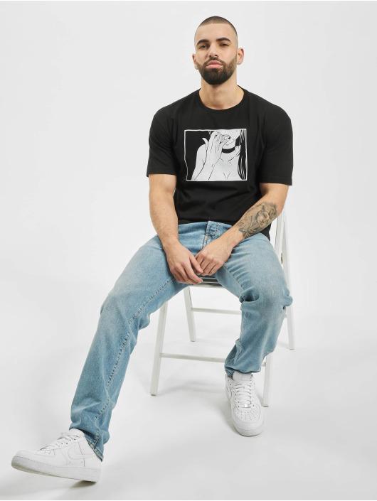 Aarhon T-Shirt Print schwarz