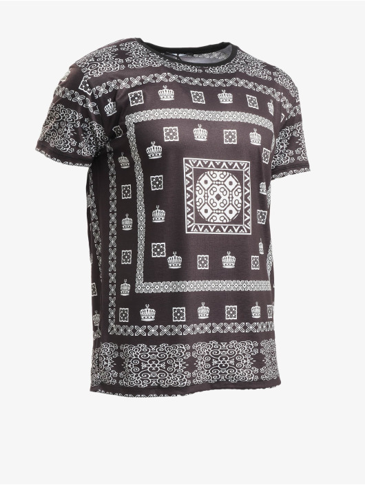 Aarhon T-Shirt Bandana schwarz